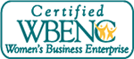 Certified by WBENC